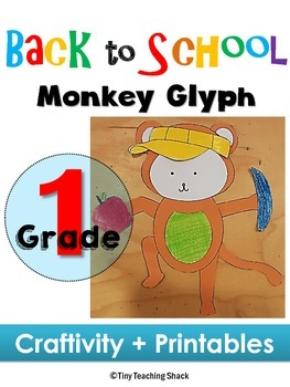 Back to School- Monkey Glyph (craft+printables)