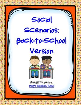 Back-to-School Social Scenarios