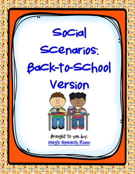 Back-to-School Social Scenarios