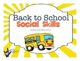 Back to School Social Skills!