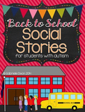 Back to School Social Stories