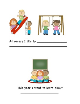 Back to School- Social Story