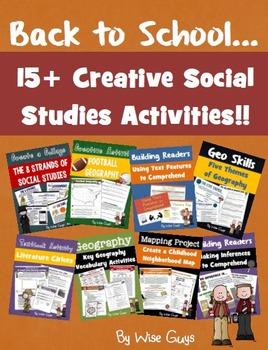 My world social studies grade 1 chapter 2 teaching resources back to school social studies bundle 15 activities fandeluxe Gallery