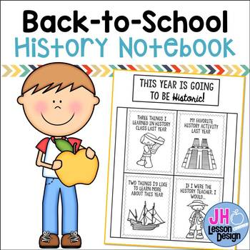 Back to School: Social Studies Notebook Foldable