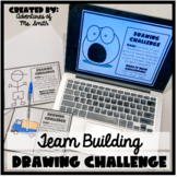 Back to School (Socially Distant) Drawing Challenge/Team Building Activity