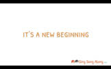 Back to School Song: New Beginnings