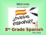 Back to School Spanish PowerPoint