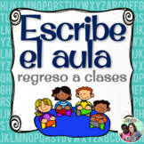 Back to School Spanish Read / Write the Room