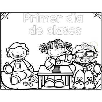 Back to School Spanish - Regreso a clases