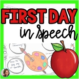 Back to School Speech Therapy | First Day in Speech