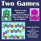 Back to School Speech Therapy Games with 120 Stimulus Questions