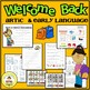 Back to School Speech Therapy Printable Unit