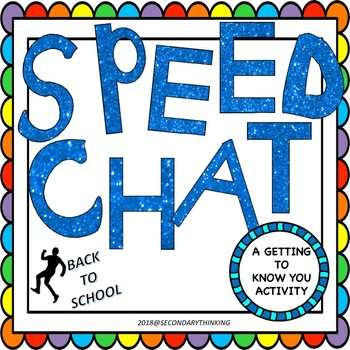 Back to School Speed Chat