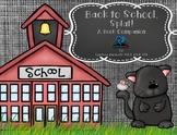 Back to School, Splat! Book Companion