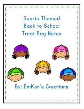 Back to School Sports Themed Bag Tags