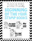 Back to School Stamp Booklet