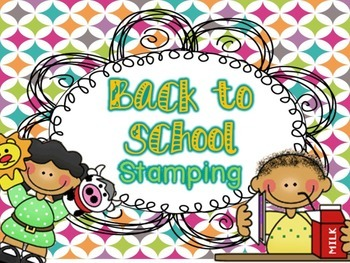 Back to School Stamping