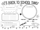 Back to School Star Studded Poster