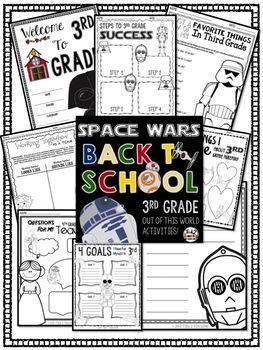 Back to School (Star Wars Inspired) Third Grade Activities