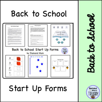 Back to School Start Up Forms