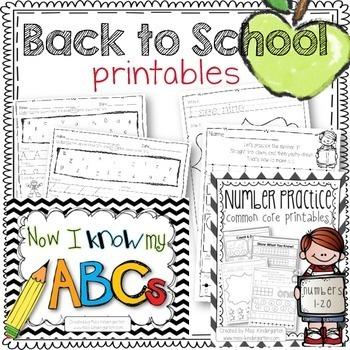 Back to School Start Up Kit {Ultimate Bundle}