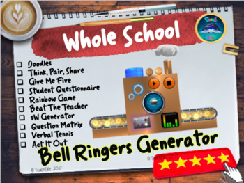 Bell Ringers / Starter Generator-Fully Interactive.