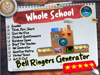 Back To School : Bell Ringers / Starter Generator