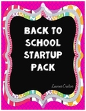 Back to School Startup Pack