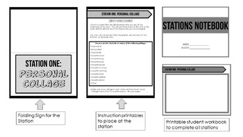 First Day of School Stations - Engaging Activities for the First Week of School