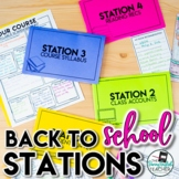 Back to School Stations (Middle School and High School)