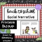 Back to School Story!