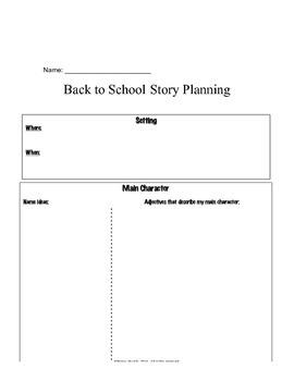 Back to School Story Matrix