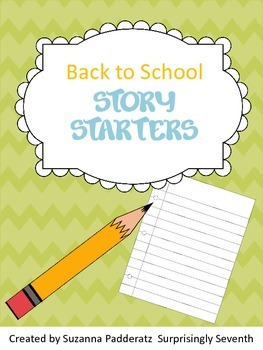 Back to School Story Starters