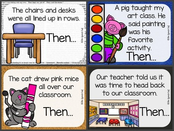 FREEBIE: Back to School Story Starters