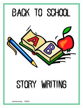 Back to School Storywriting