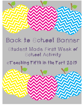 {Free!} Back to School Student Banners Beginning of the Year