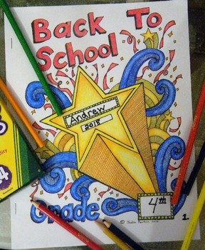Back to School Student Color Booklet - Rules, procedures, and more!