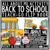 Back To School Writing Activity: All About Me Google Slides 3rd Grade, 4th Grade