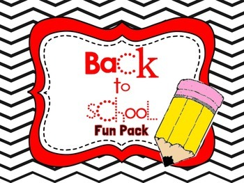 Back to School Student Fun Pack