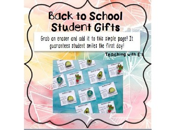 Back to School Student Gift