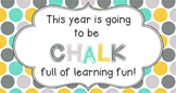 Back to School Student Gift Tag | Chalk Full of Learning Fun