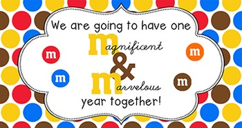 Back to School Student Gift Tag | M&M Year