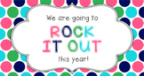 Back to School Student Gift Tag | Rock it Out