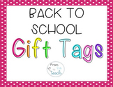 Back to School Student Gift Tags-Growing Bundle