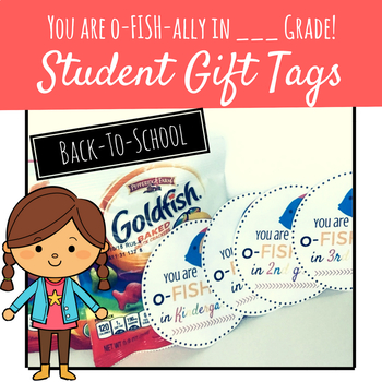 Back to School Student Gift Tags - Meet the Teacher