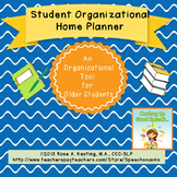 Student Organizational Home Planner