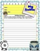 First Day of School Ice Breaker - Student Activity and Writing Sample Prompt