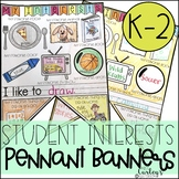 Student Interest Pennant Banners