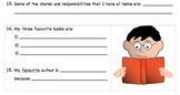 Back to School - Student Interest Survey