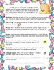 Back to School Student Letter and Symbol Activity
